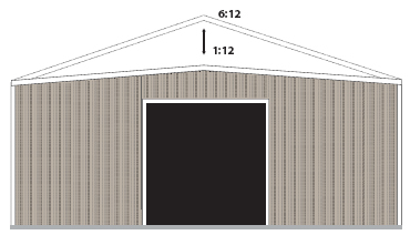 26 Gauge Painted Galvalume Plus Roof